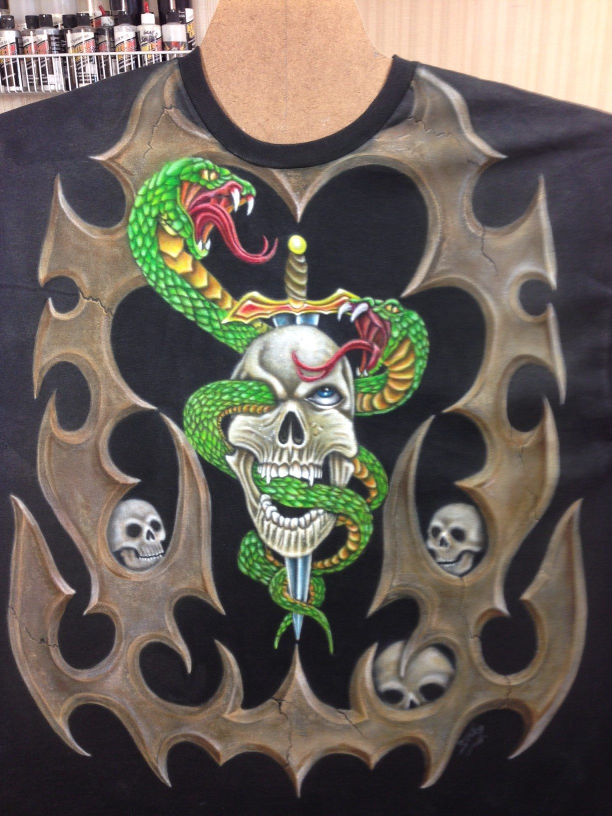Apparel Airbrushing Long Island Airbrush Artist