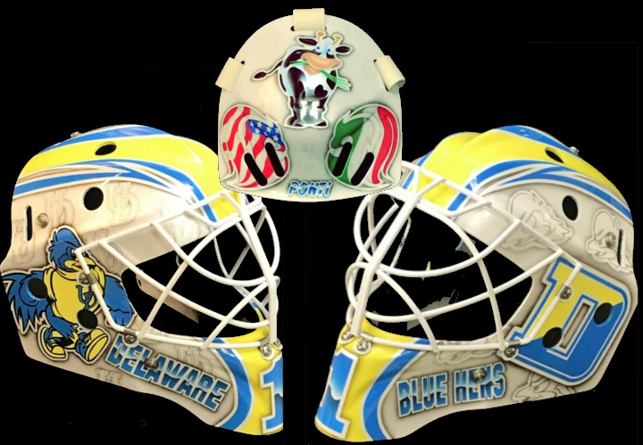 college goalie mask